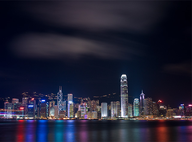 Victoria Harbour Skyline